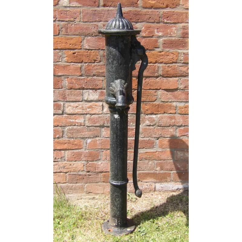 Old Cast-Iron Pump