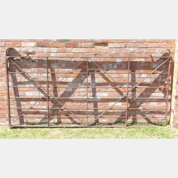 Wrought-Iron Paddock Gate