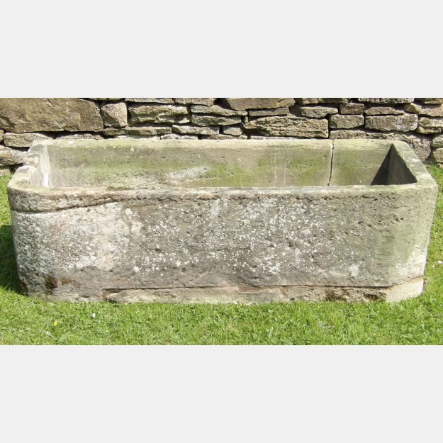 Large Rectangular Stone Trough