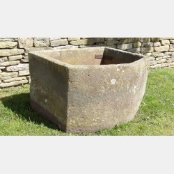 Large Antique Stone Trough