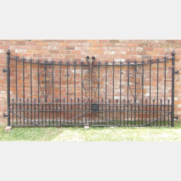 Pair of Wrought-Iron Gates