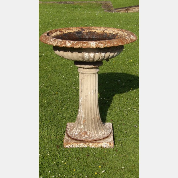 Antique Cast-Iron Fountain