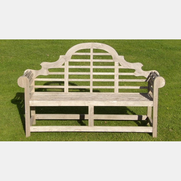 Weathered Lutyens Style Bench