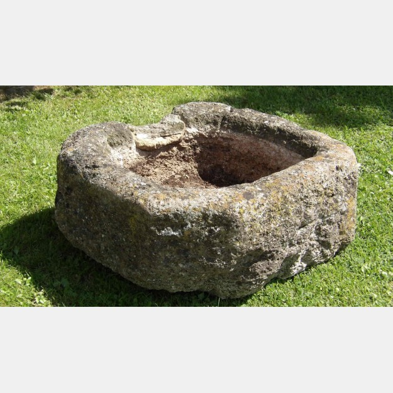 Old Limestone Garden Trough