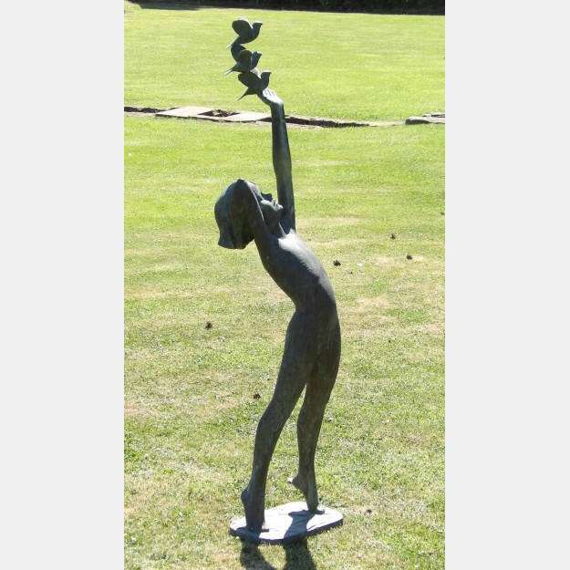 David Norris, Bronze Figure