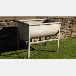 Vintage Galvanised Trough