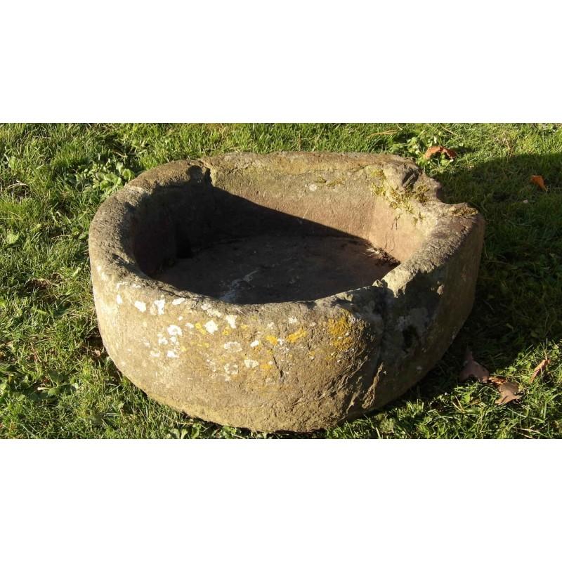 Old Horseshoe Stone Trough