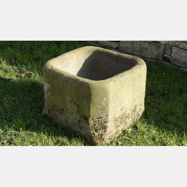 Antique Stone Planter