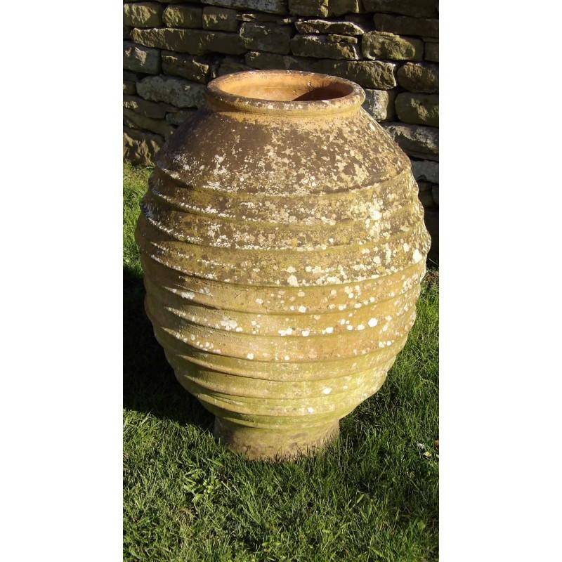 Old Terracotta Garden Urn