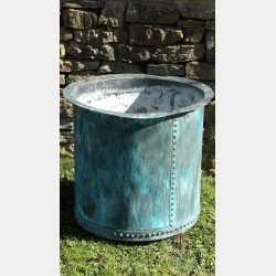 Antique Copper Planter