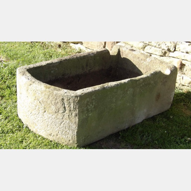 Antique Stone Pump Trough