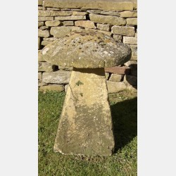 Antique Cotswold Stone Staddle Stone