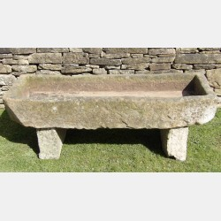 Large Stone Garden Trough
