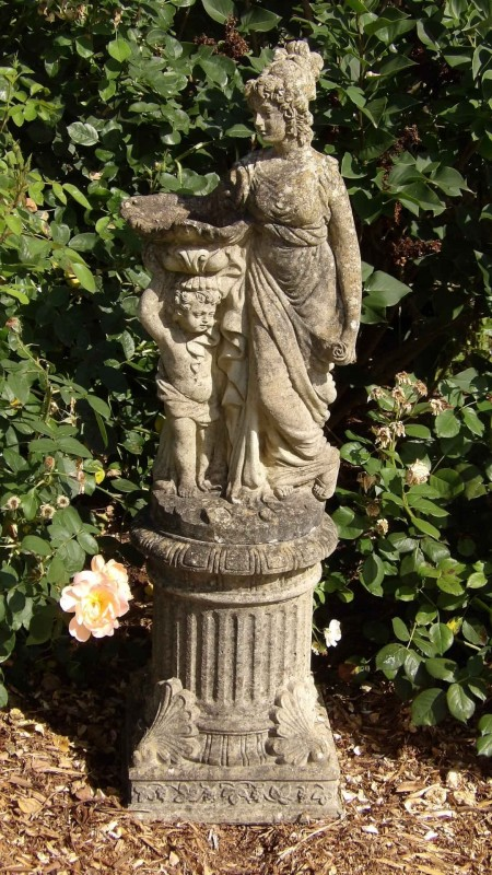 The Detail Shop >> A Weathered Garden Statue| Holloways Antique Ornaments