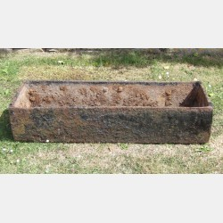 Vintage Cast-Iron Trough
