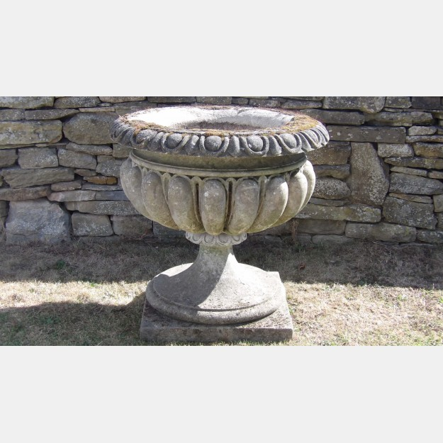 Large Weathered Urn