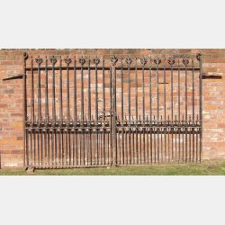 Pair of Antique Entrance Gates