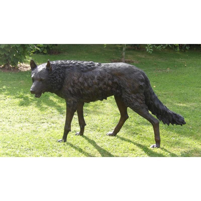 Bronze Wolf