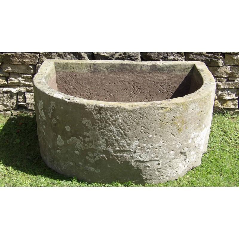 Antique Stone Water Trough