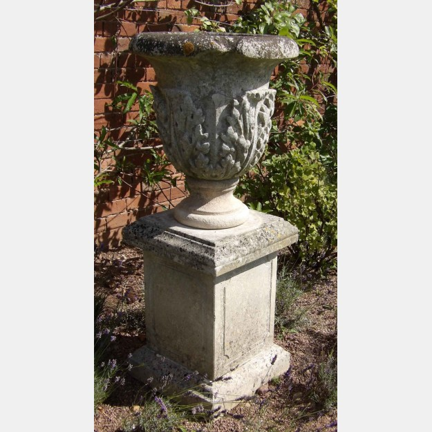 Antique Stone Garden Urn