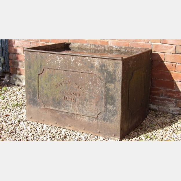 Antique Iron Water Tank