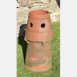 Salvaged Terracotta Chimney Pot
