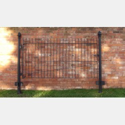 Old Wrought Iron Paddock Gate