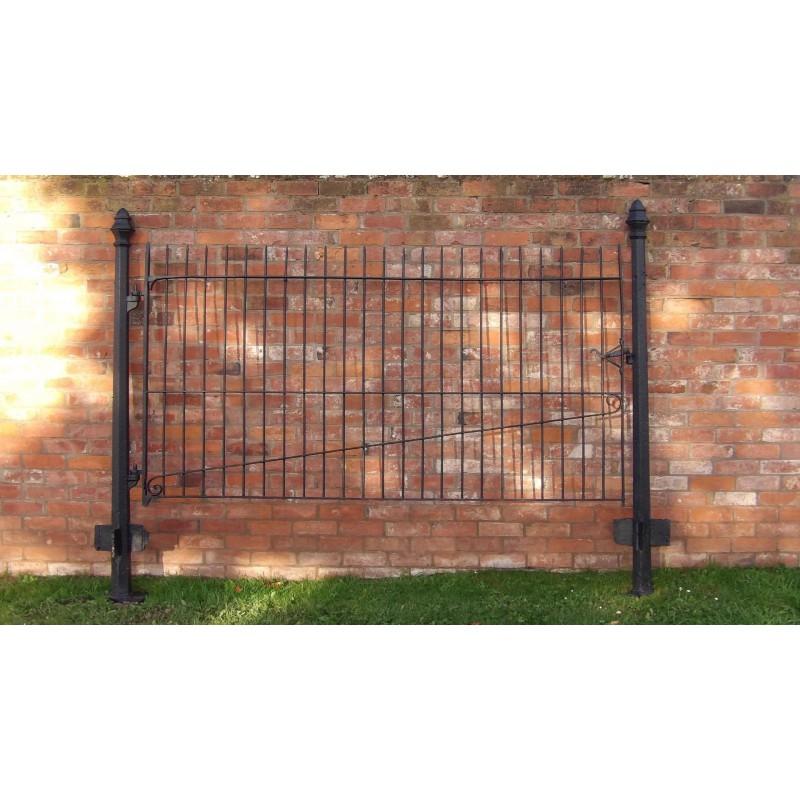 Old Wrought Iron Paddock Gate
