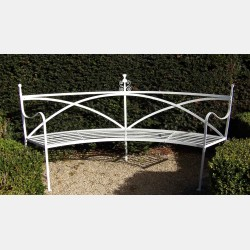 Wrought-Iron 'Regency' Bench