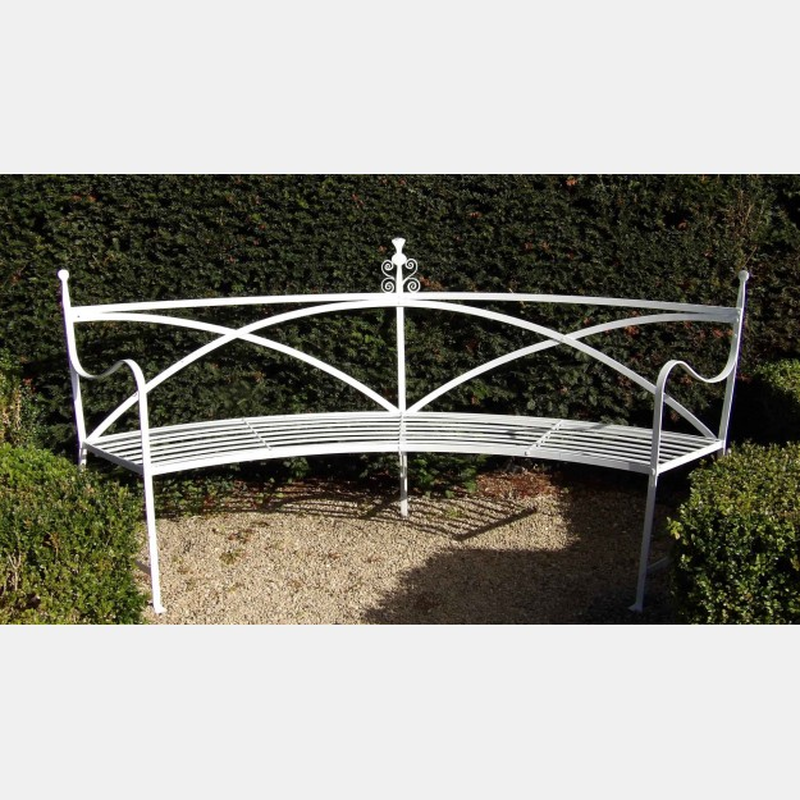 Wrought-Iron 'Regency' Bench
