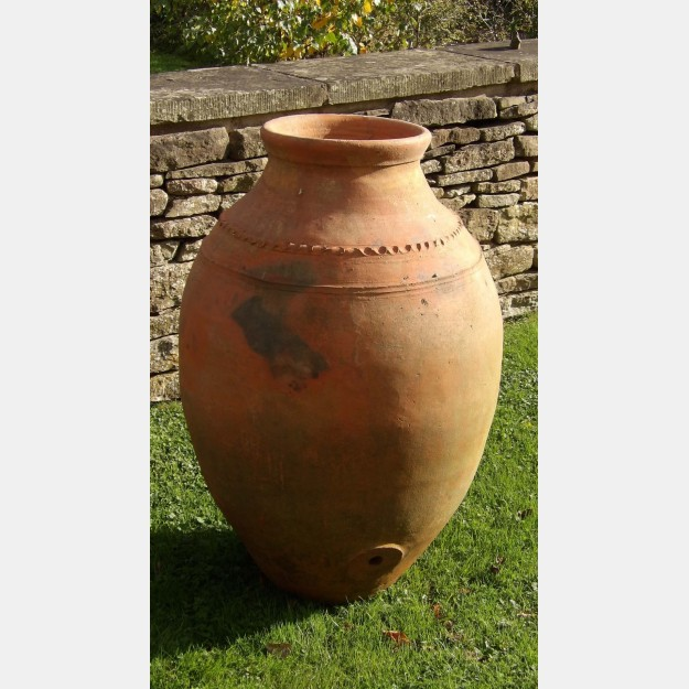 Vintage Terracotta Oil Jar