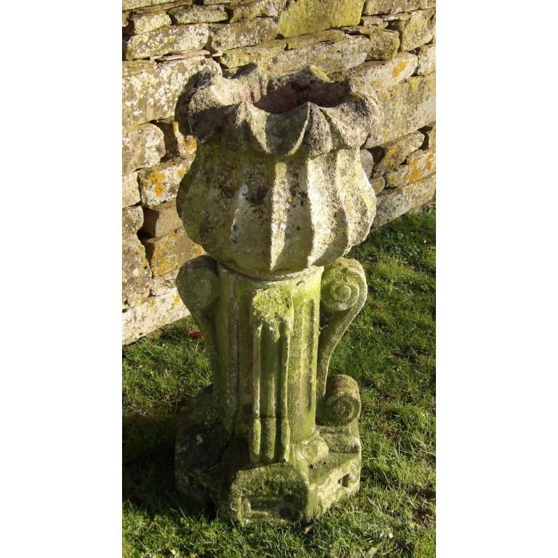 Antique Stone Garden Urn