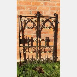 Salvaged church gate