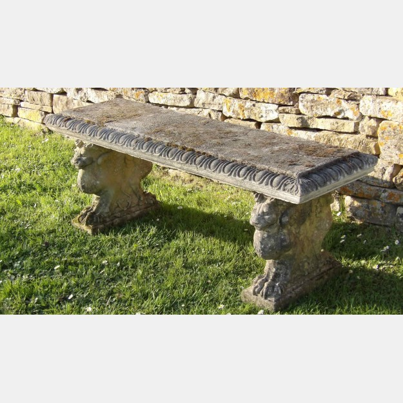 Weathered Garden Seat