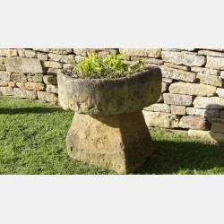 Weathered Stone Trough