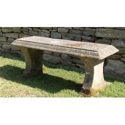 Vintage Stone Bench