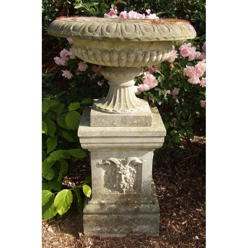 Large Vintage Garden Urn