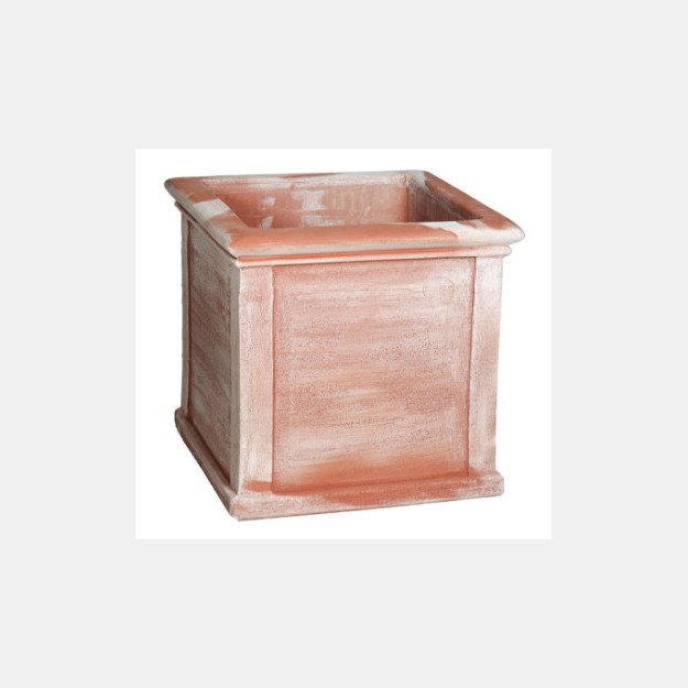 Panelled Square Planter