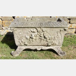 Weathered Haddonstone Planter
