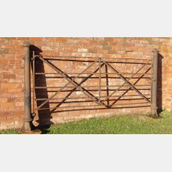 Salvaged Iron Gate