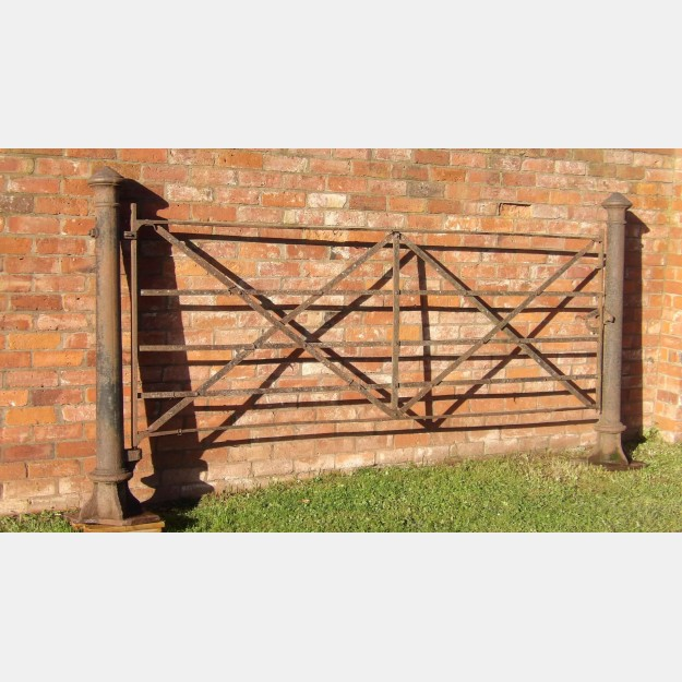 A Salvaged Iron Gate