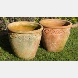 Hand Thrown Terracotta Pots