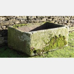 Large Stone Horse Trough