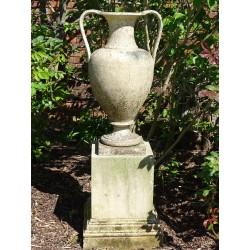Coade Urn On Plinth