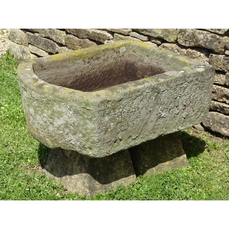 Antique Stone Pump Trough