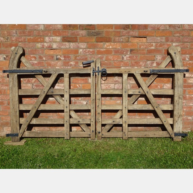 Salvaged Oak Garden Gates