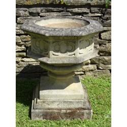 Weathered Gothic Urn