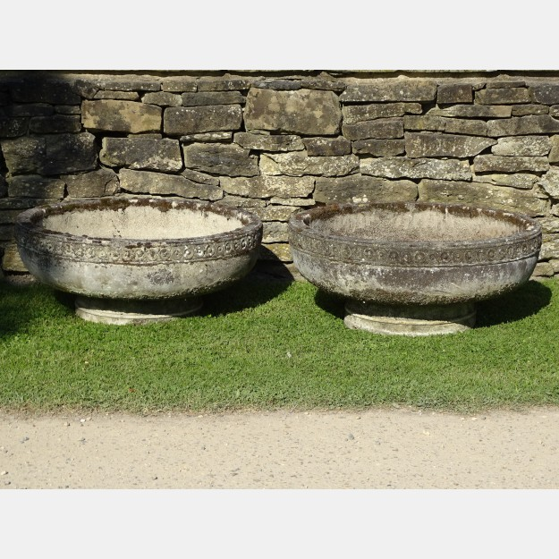 Pair Romanesque Bowls