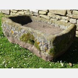 Large Stone Trough