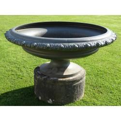 Large Antique Cast-Iron Urn
